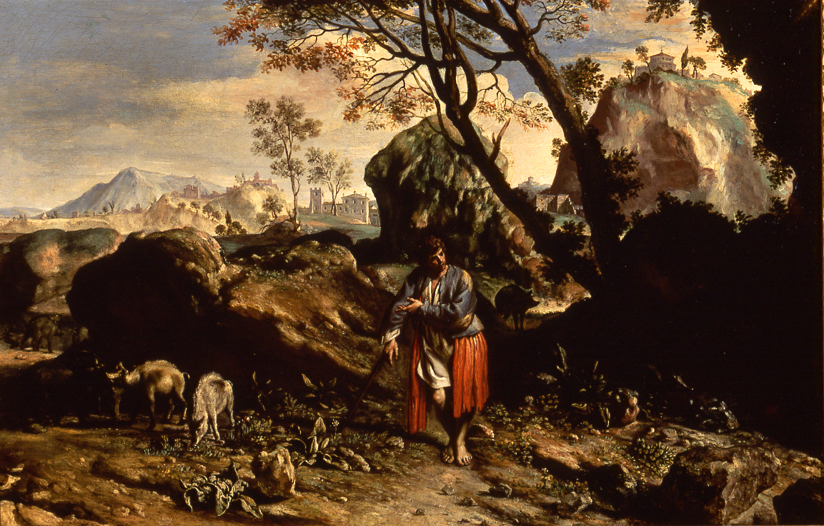 Francesco Cozza (1605-1682),  </br>'The Prodigal Son as a Swineherd.'