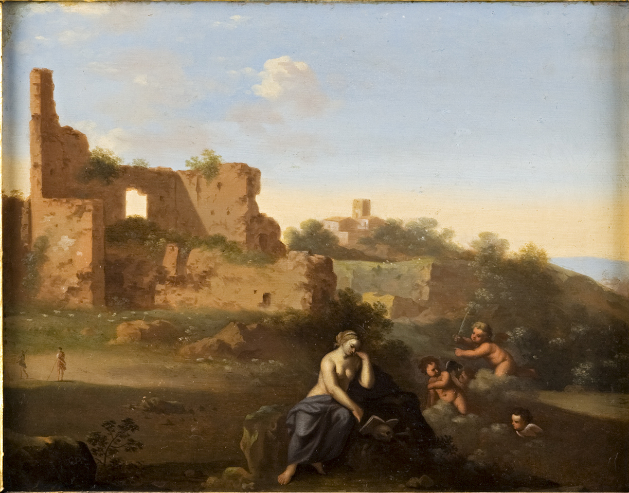 Cornelis van Poelenburch (1594-1667),</br> 'The Magdalene in the Wilderness.'