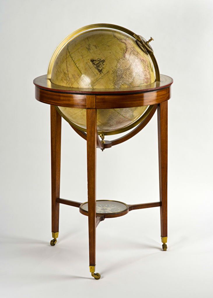 A pair of George III Banks' Terrestrial and Celestial 20in. Library Globes.