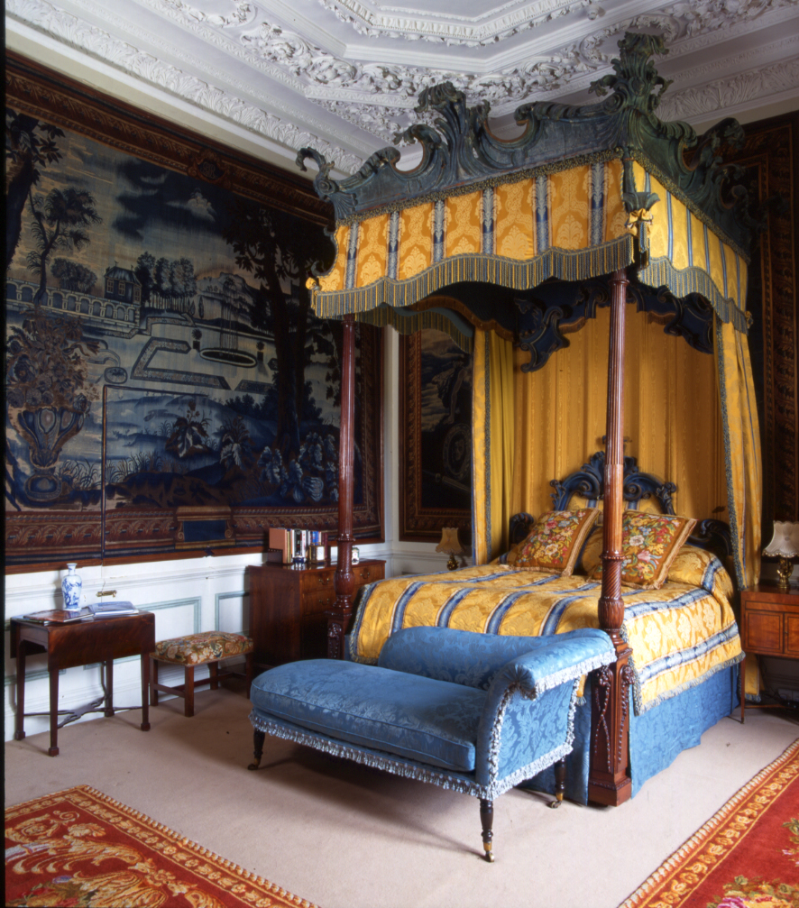An important George III state bed by Mayhew & Ince, January 1768.