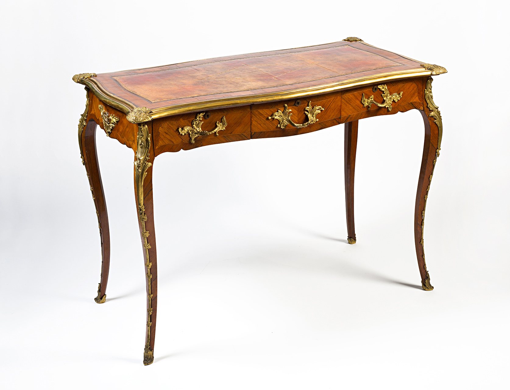 An early  Victorian small rosewood writing desk, circa 1850.