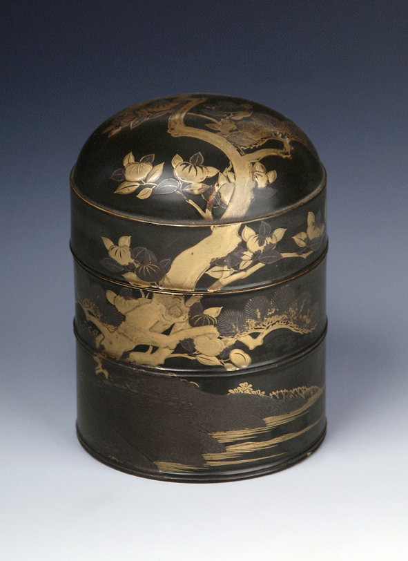 A tall cylindrical cosmetic oil container, late 17th/early 18th Century.