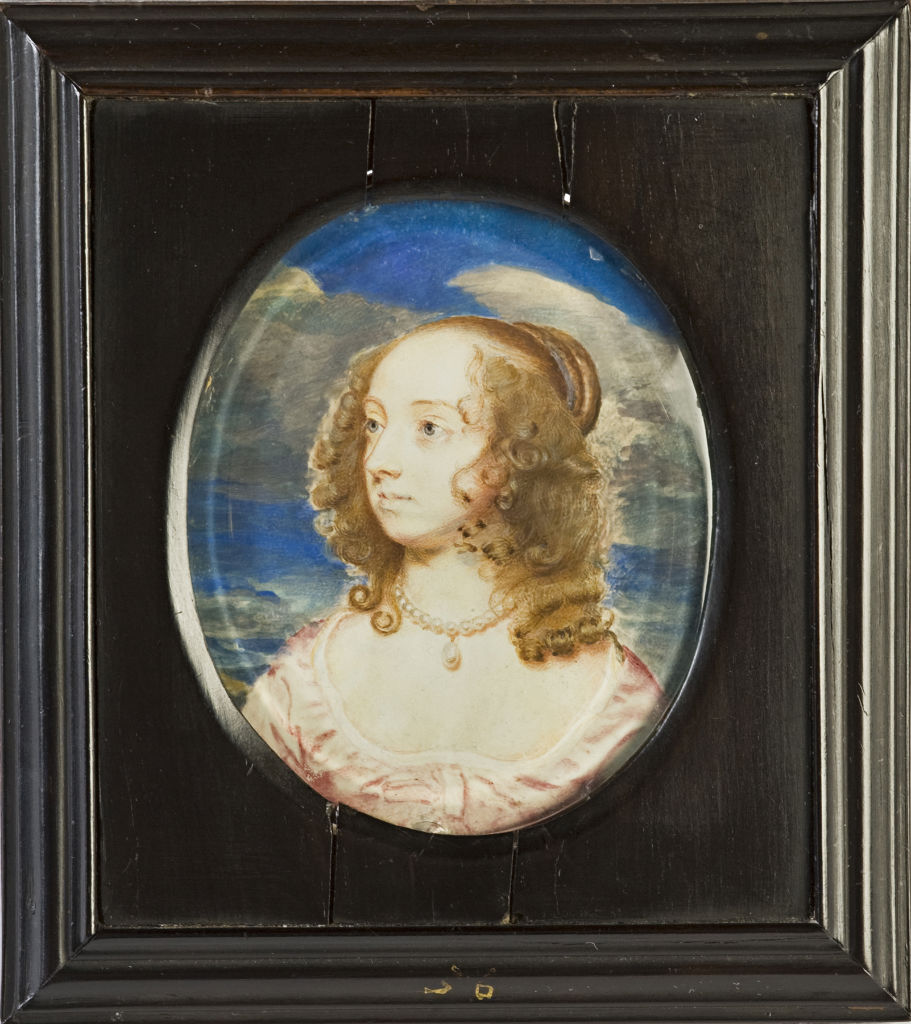 Elizabeth, Countess of Northumberland, nee Howard, by Samuel Cooper, circa 1645.