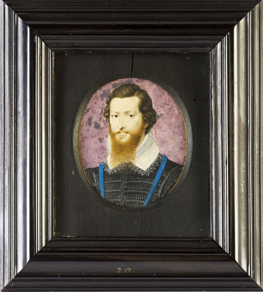 Robert Devereux, 2nd Earl of Essex, by Isaac Oliver, circa 1600.