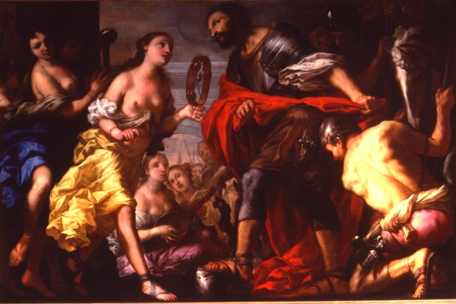 Antonio Zanchi (1631-1722),  'Jepthah's Vow.'