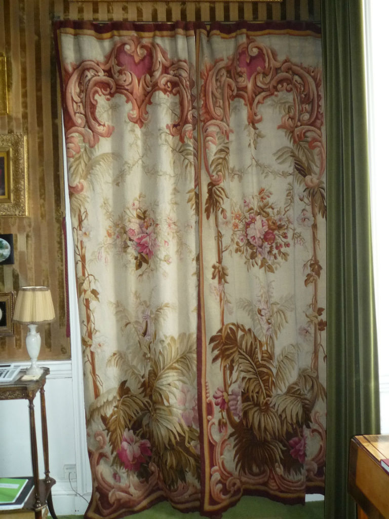 A pair of Aubusson Tapestry Portieres, mid 19th Century.