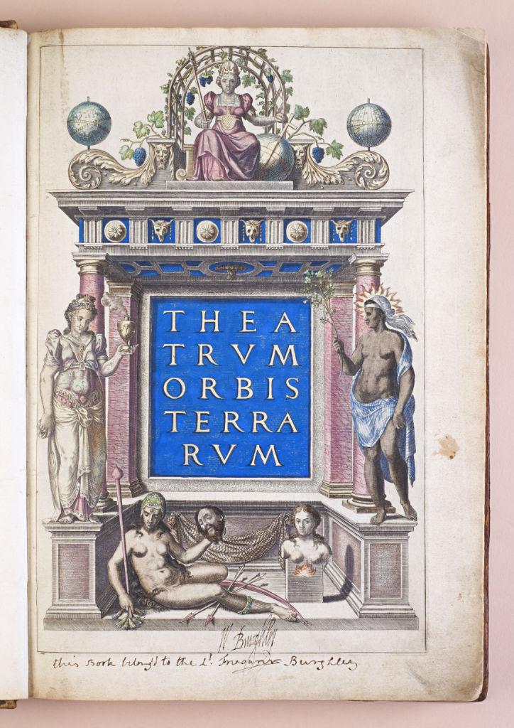 Theatrum Orbis Terrarum, Abraham Ortelius, Antwerp, 1570.