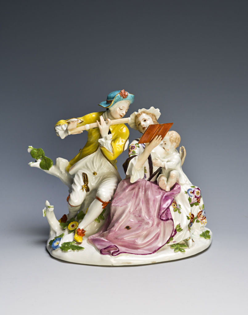 A Meissen musical group, circa 1745.