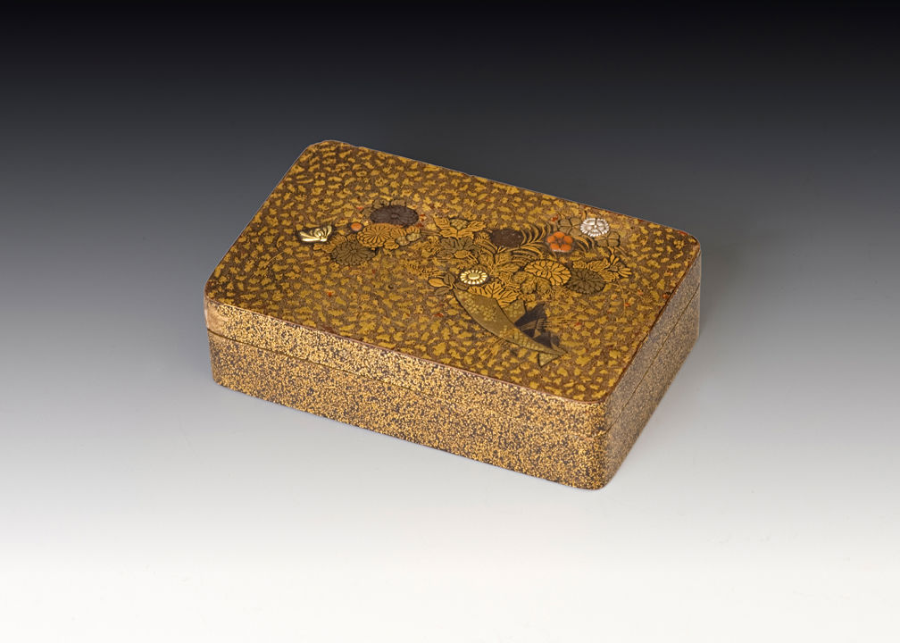 A rectangular box for incense selection, late 17th /early 18th Century.