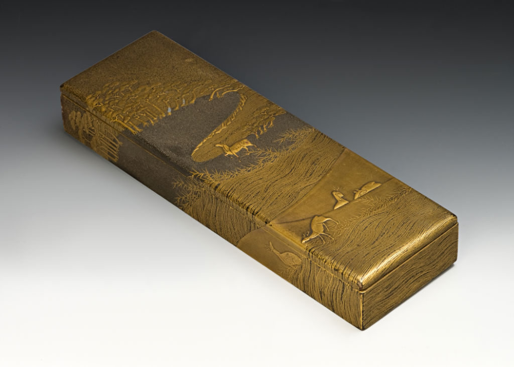 A rectangular box, late 17th/mid 18th Century.