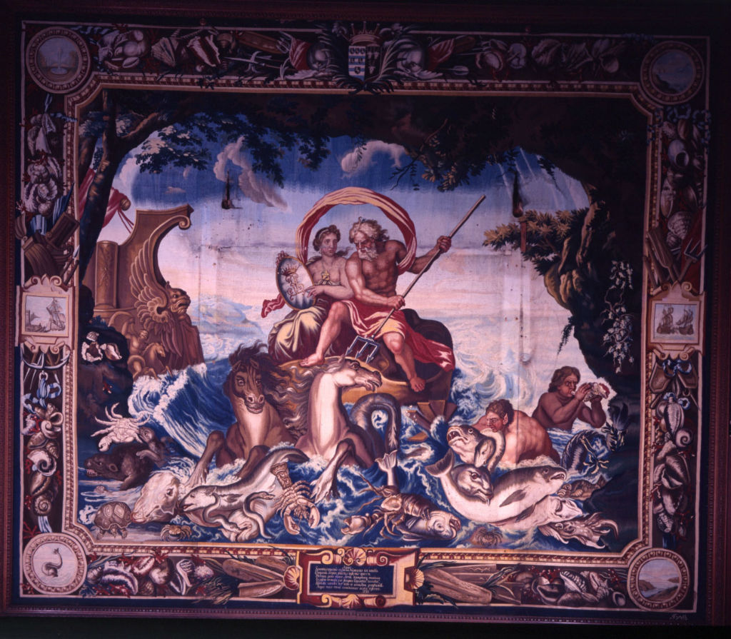 One of the Soho 'Elements' Tapestries, by John Vanderbank, after Charles Le Brun, circa 1685