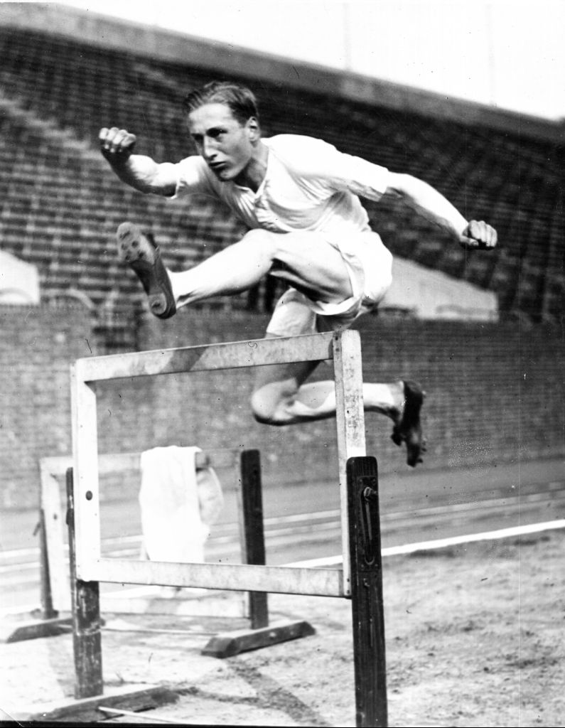 Clearing a hurdle as closely as possible can enable a refined technician to triumph over a faster athlete. Lord Burghley's very individual training schedule involved the placing of a matchbox on each hurdle which he would attempt to remove with his leading foot, without touching the hurdle.