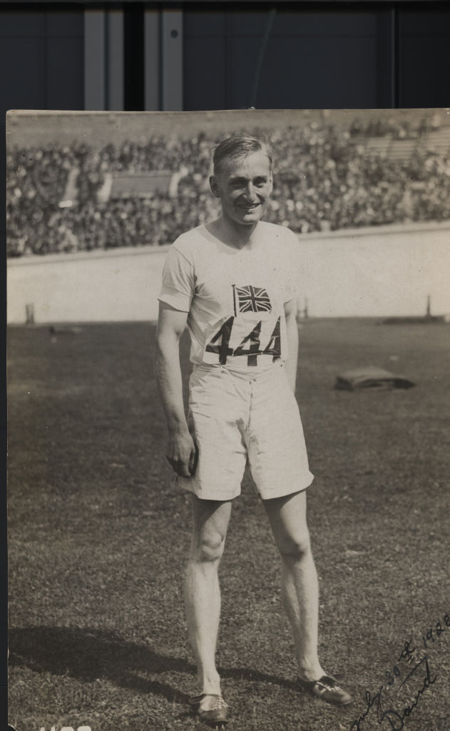 Lord Burghley's greatest sporting triumph was unquestionably the gold medal that he won at the 1928 Amsterdam Games. In addition at the 1932 Games in Los Angeles his remarkable time of 46.7 seconds for his leg of the 4 x 400 metres relay was instrumental to the English team's success in winning a Silver medal.