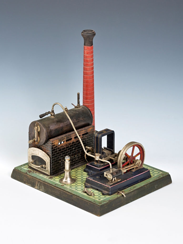 A Steam Model of an Electrical Generator, Nuremberg, circa 1930.