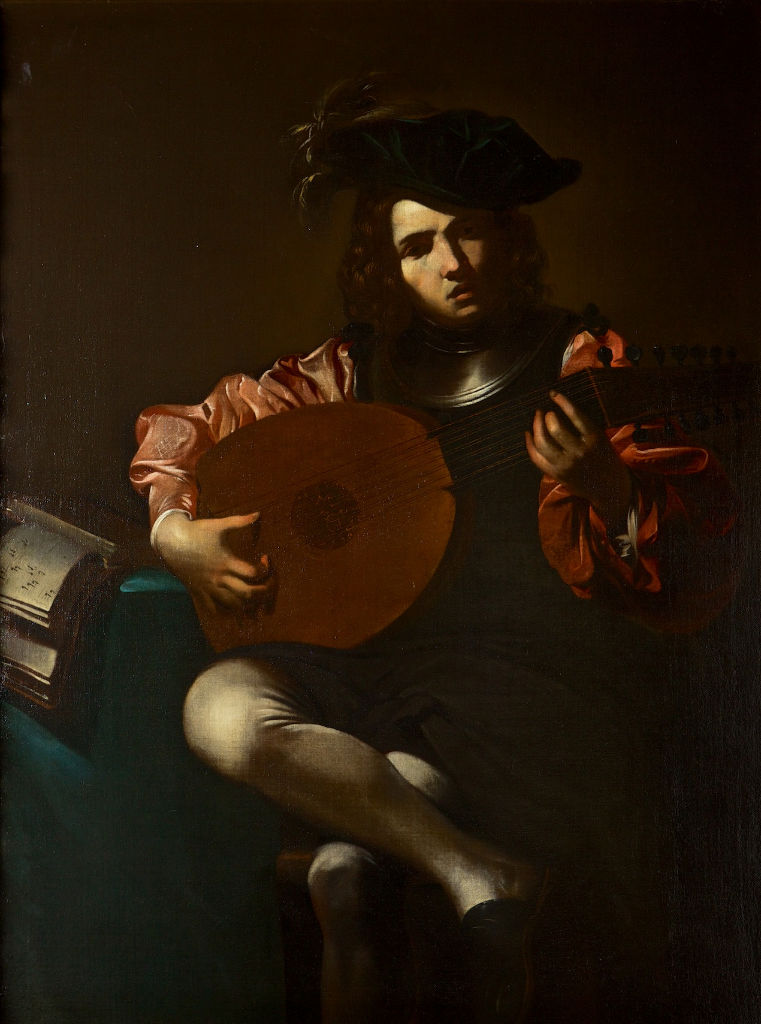 Circle of  Valentin de Boulogne, called Le Valentin.