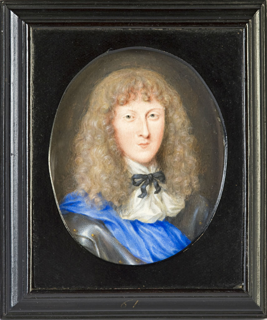 William, Lord Cavendish, later 1st Duke of Devonshire (1640/1-1707), by Louis du Guernier, signed and dated 1658.