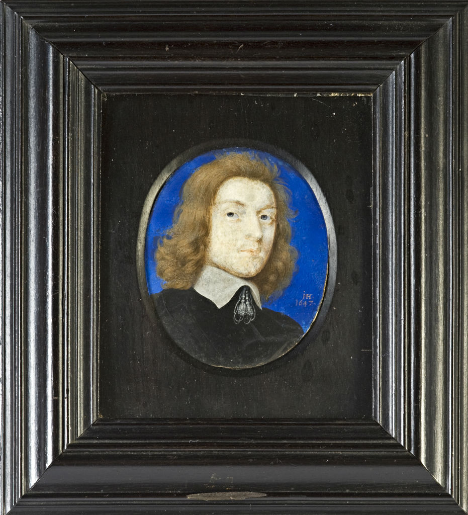 John, 4th Earl of Exeter (1628-1678), by John Hoskins (1590-1665), signed with initials and dated 1647.