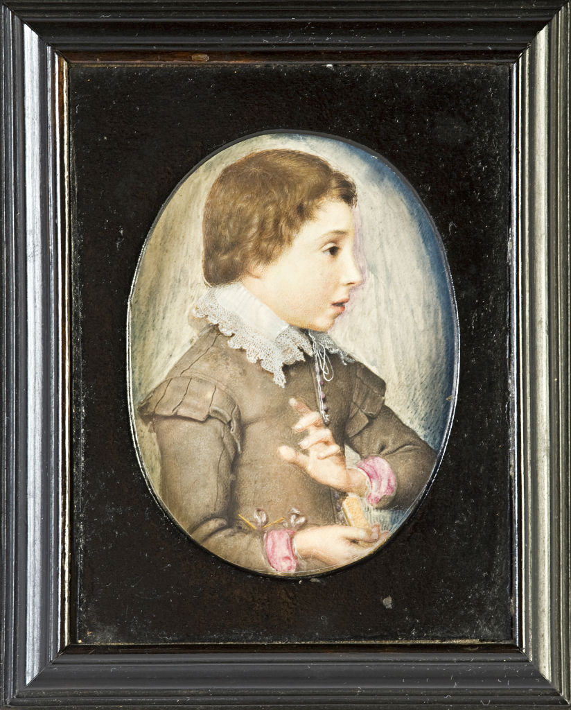 A Young Boy, called Master Cecil, by John Hoskins, circa 1640.