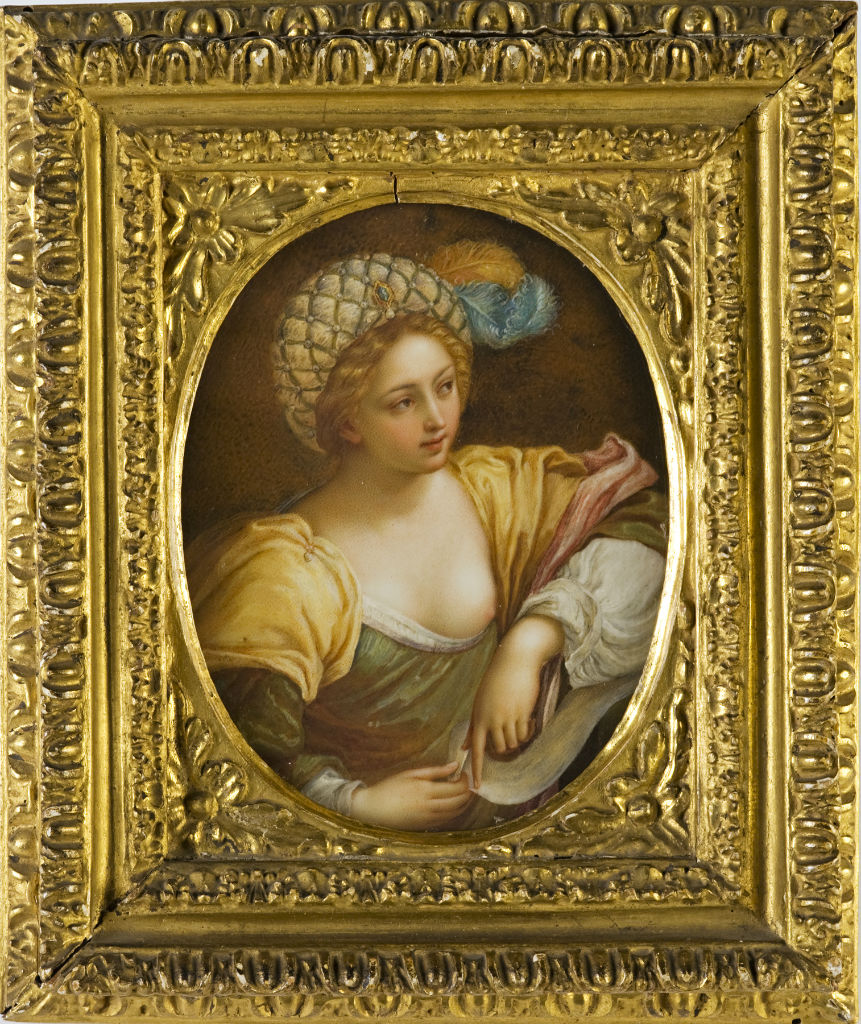 A Sibyl by Theresia Concordia Da Maron, nee Mengs, 1769.