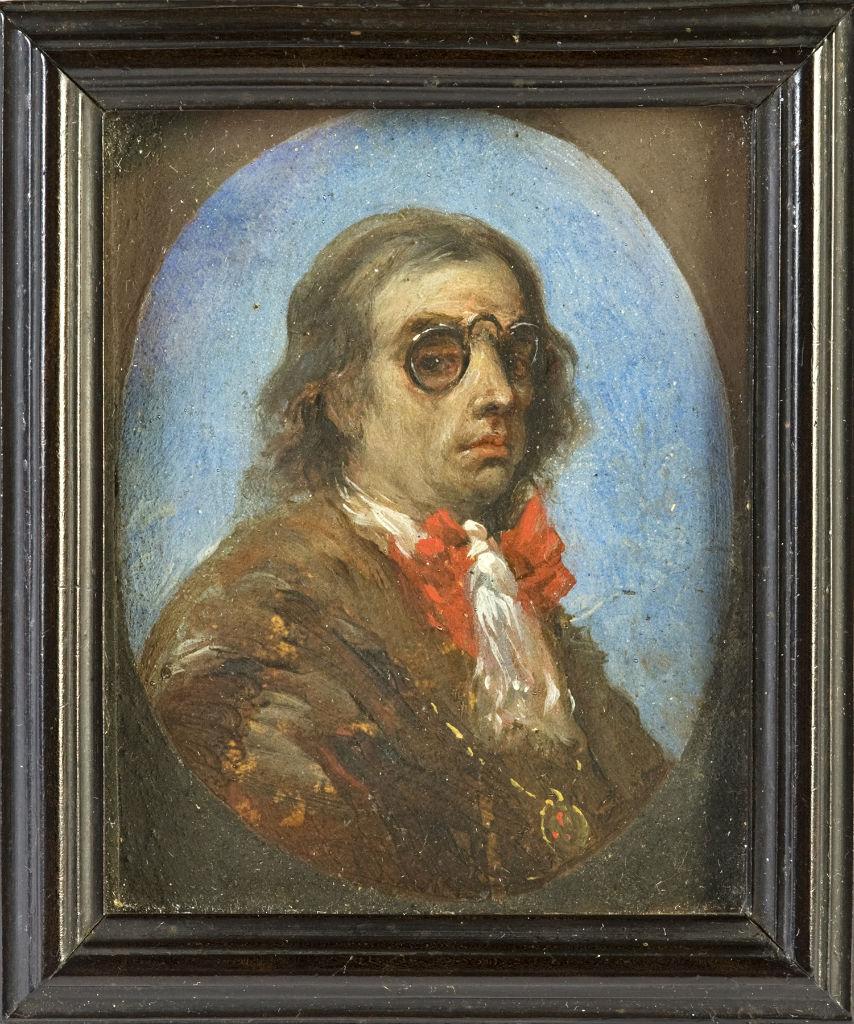 Luca Giordano, a Self-Portrait, circa 1680.