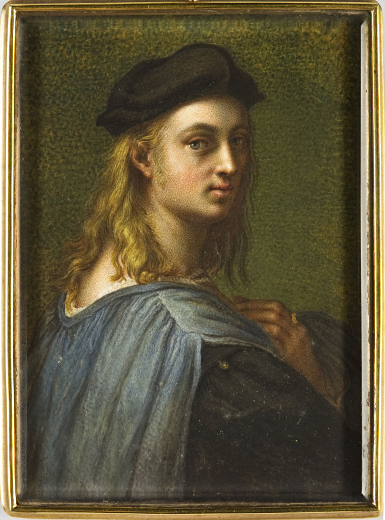 Raphael, after a self-portrait, by Elizabeth Stern, signed.