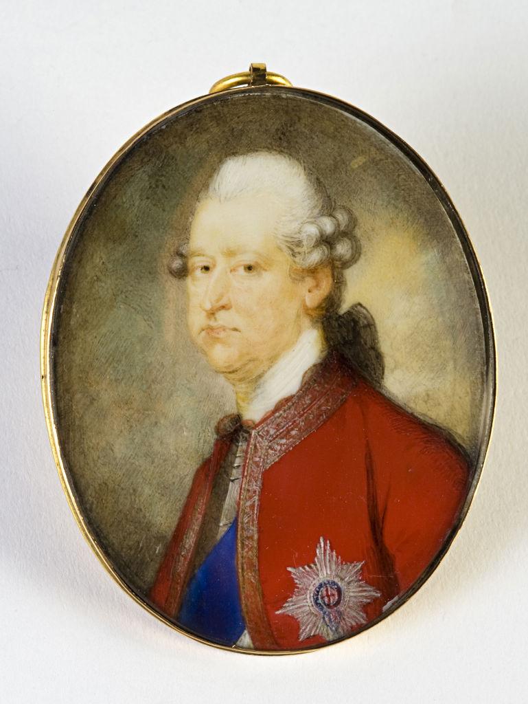 Prince Charles Edward Stuart (1720-1788), by Ozias Humphry, circa 1775.