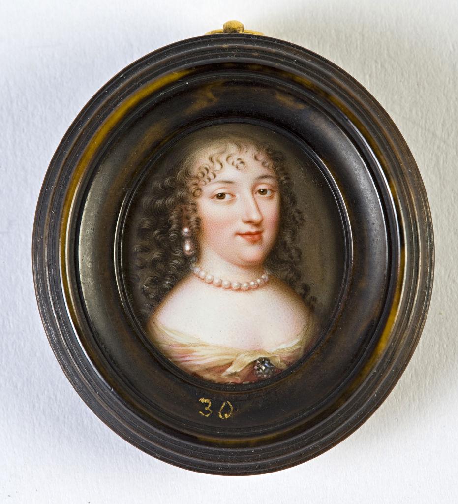 Marie de Rabutin-Chantal, Marquise de Sevigne (1626-1696), School of Jean Petitot, circa 1660.