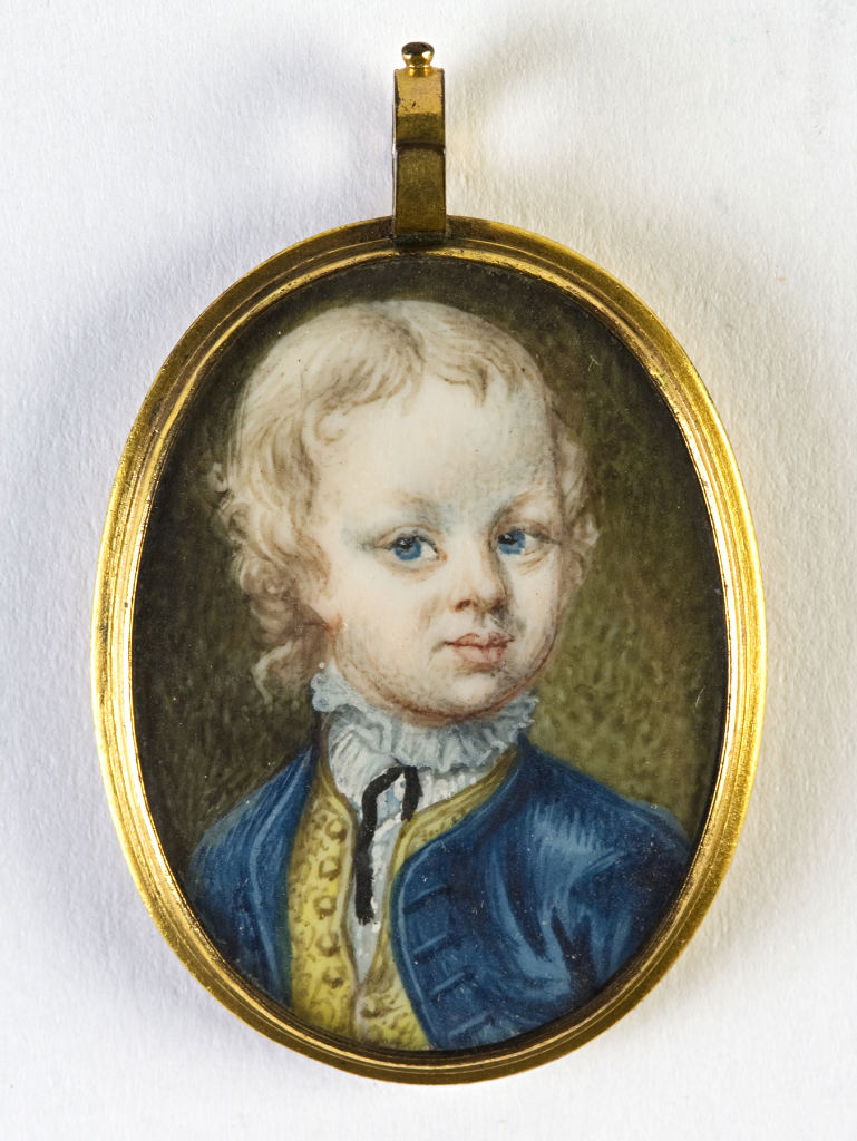 Young boy, English School, circa 1740.