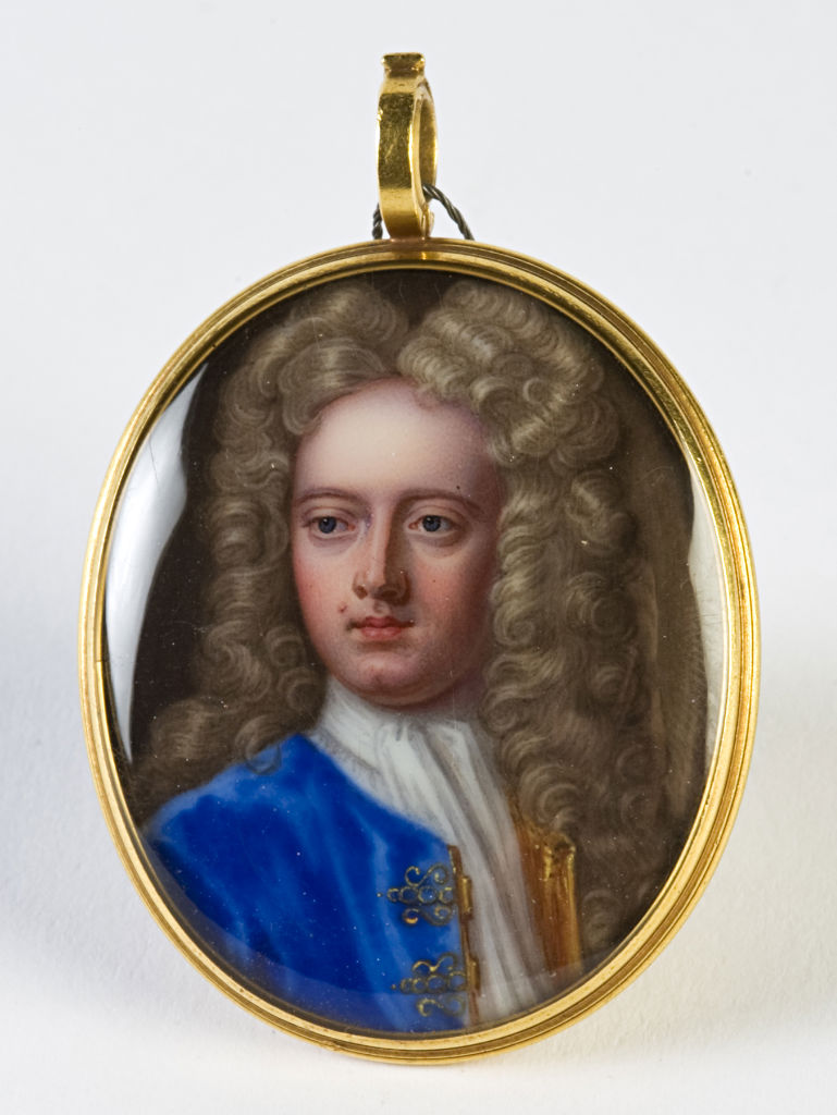 John, 6th Earl of Exeter (1674-1721), Attributed to Charles Boit (1662-1727) circa 1710.