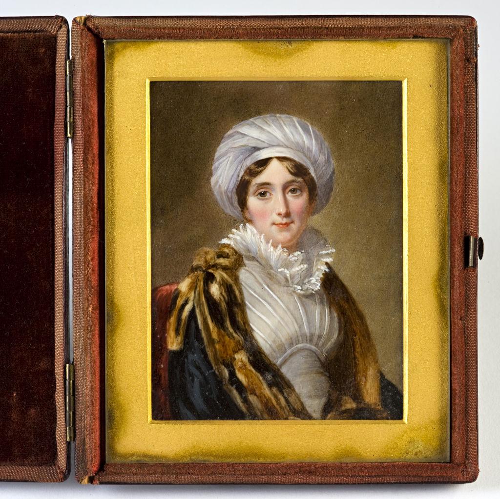 Lady Sophia Cecil, wife of Lord Thomas Cecil, by William Egley.