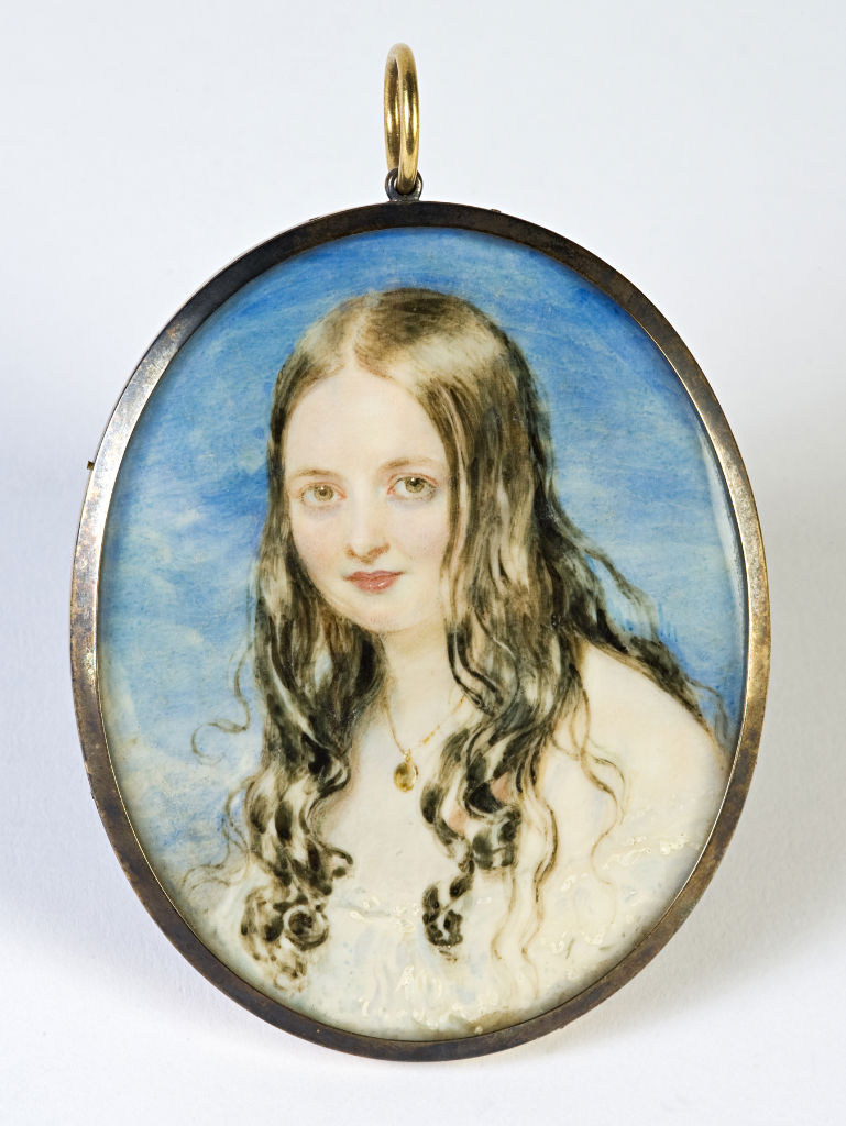 Isabella Whichcote, later 4th Marchioness of Exeter, by Sir William Charles Ross, circa 1855.