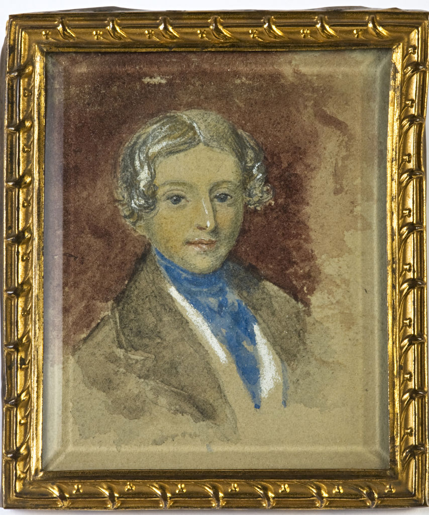 Sir Thomas Whichcote, 7th Baronet, father of Isabella, 4th Marchioness of Exeter, English School, circa 1840.