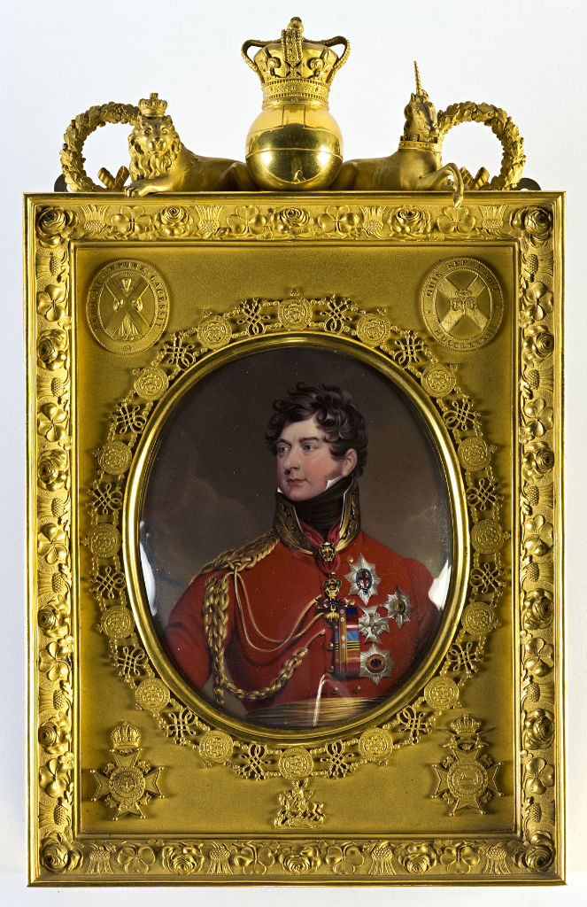George IV by Henry Bone R.A. (1755-1834), after Sir Thomas Lawrence R.A. (1769-1830).