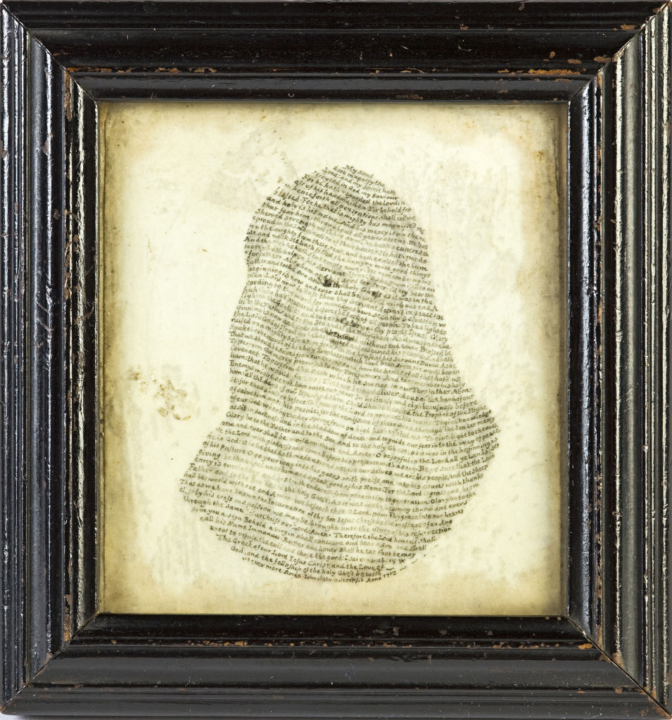 A Lady, by J. Salvio, signed and dated 1713.