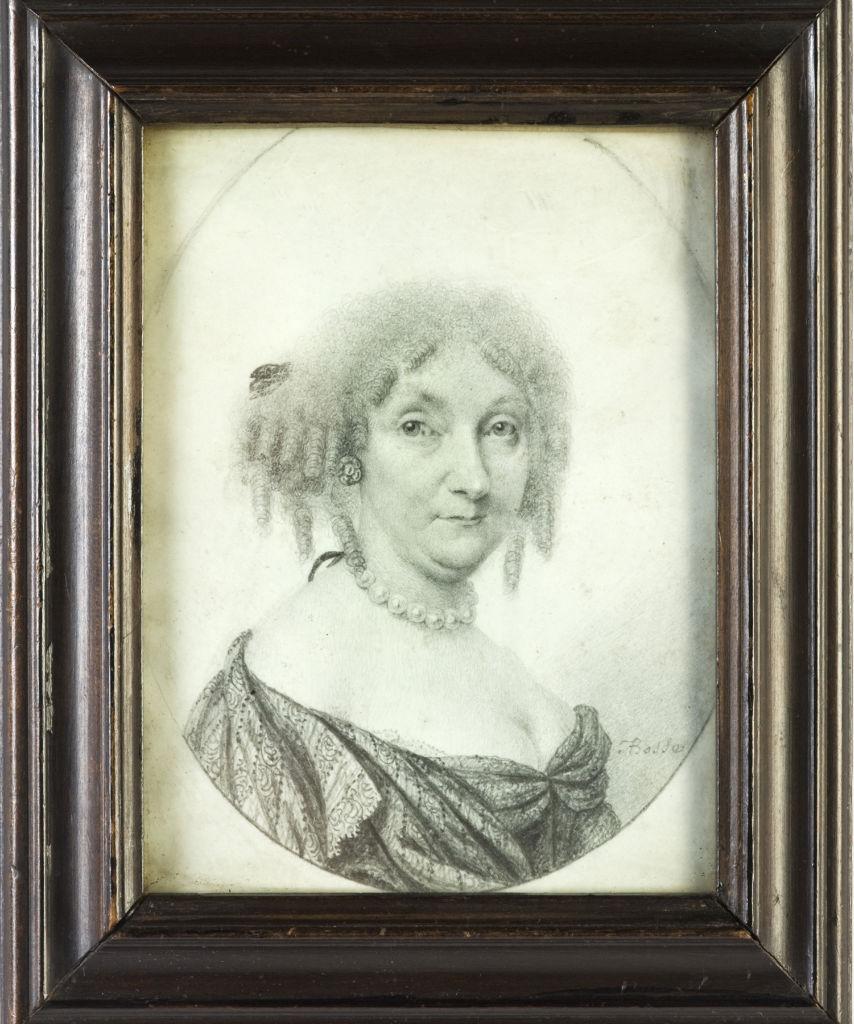 A Lady, by Abraham Bosse, circa 1670.