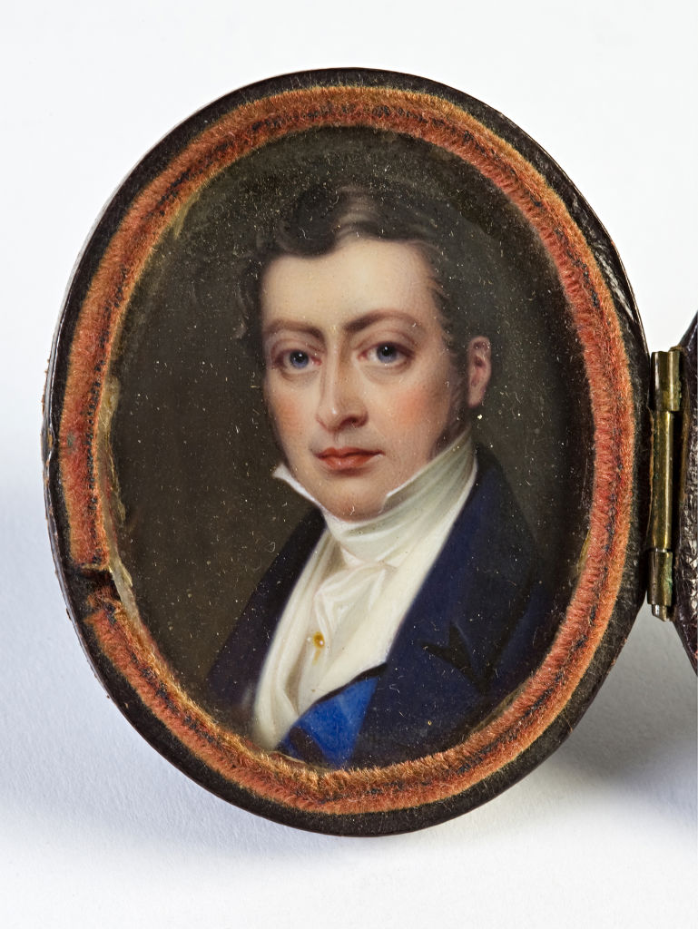 Brownlow, 2nd Marquess of Exeter, by Henry Pierce Bone.