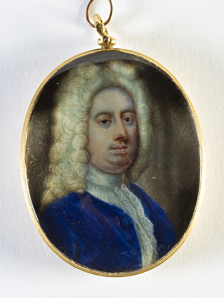Brownlow, 8th Earl of Exeter, English School after Zincke, 18th Century.