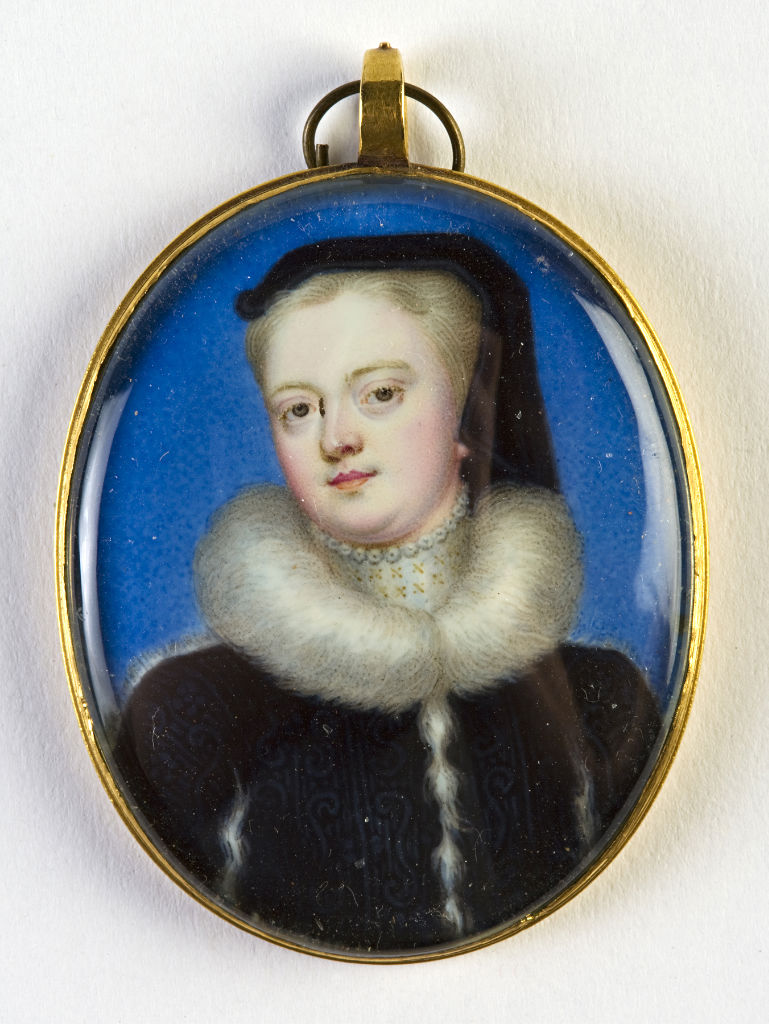 Hannah Sophia, Countess of Exeter, School of Christian Friedrich Zincke, 18th Century.