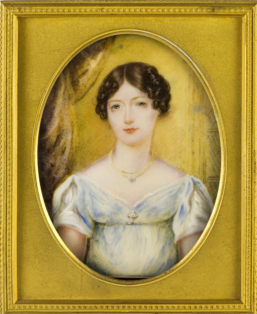 Lady Sophia Cecil, English School, circa 1815.