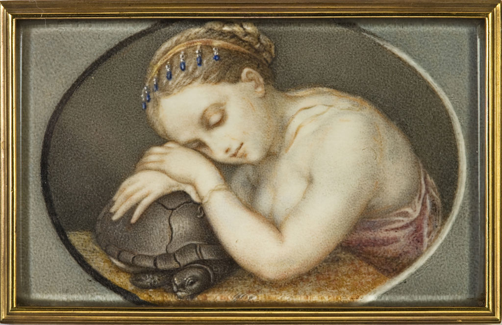Indolence, by Orsola Urbani, late 18th Century.