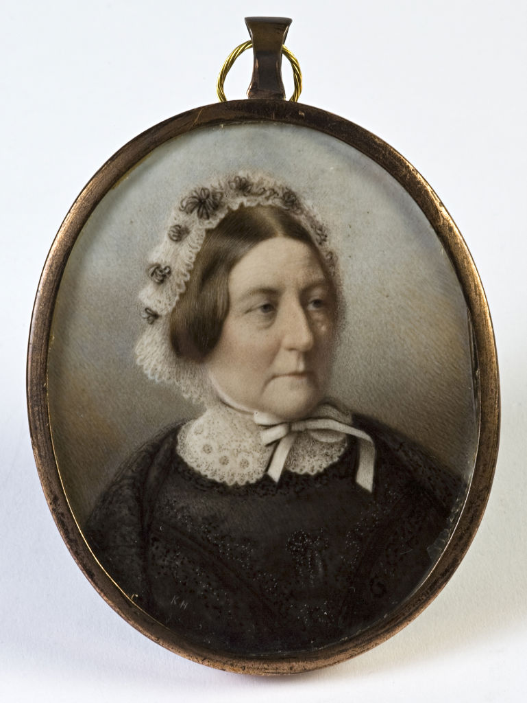 A tinted photograph of a Lady, probably by K Hargreaves, late 19th Century.