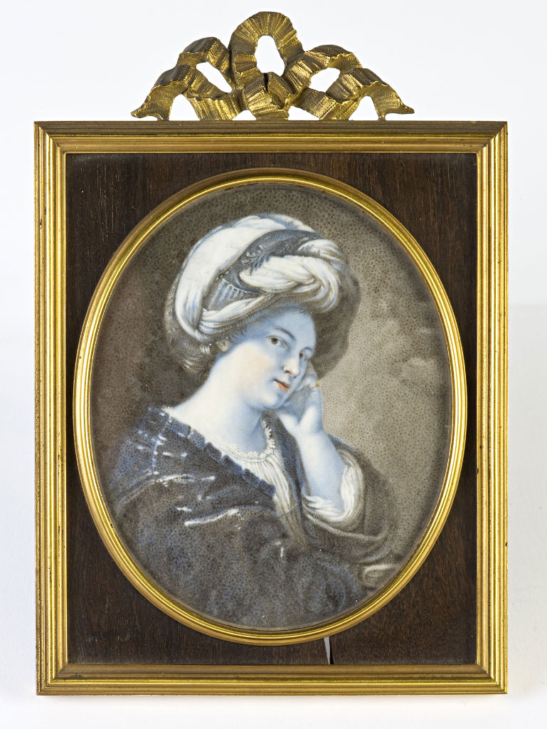 A Sibyl by Silvia Stizzio, first half 18th Century.