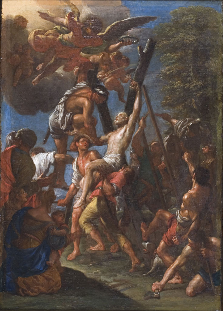 Francesco Trevisani, </br> The Martyrdom of St Andrew.