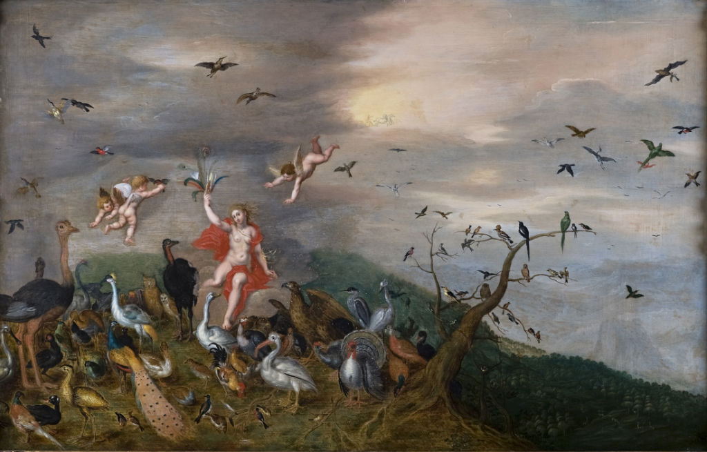 Studio of Jan Breughel the Elder, </br> an Allegory of the Element of Air.