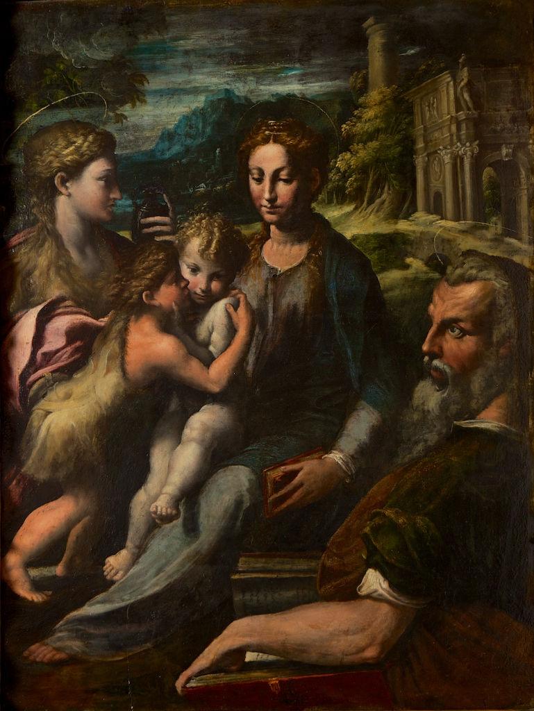 Italian School, circa 1600, after Parmigianino.