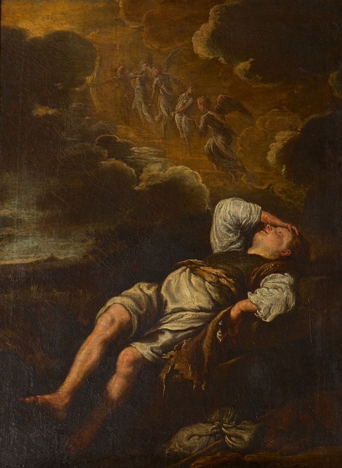 Jacob's Dream, After Domenico Feti (c1589-1623).