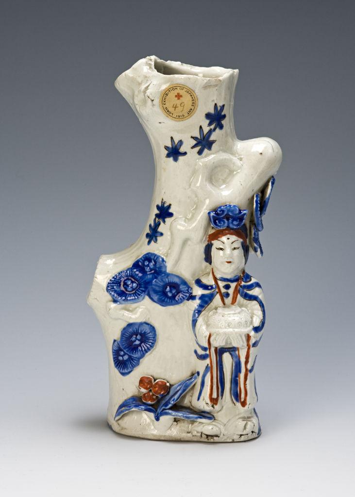 A Japanese Arita vase, circa 1660-1680.
