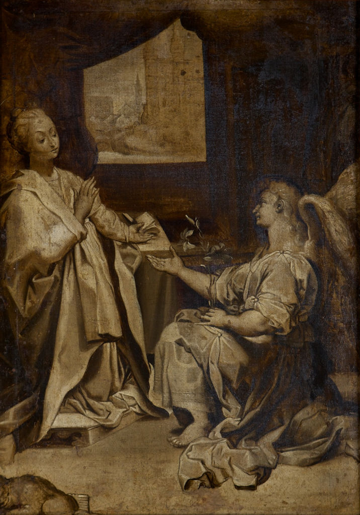 After Federico Barocci, </br>The Annunciation.
