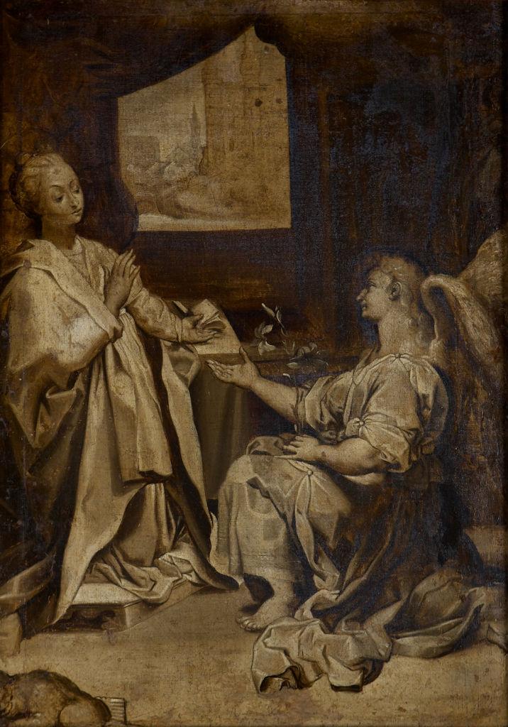 After Federico Barocci, </br>The Annunciation.