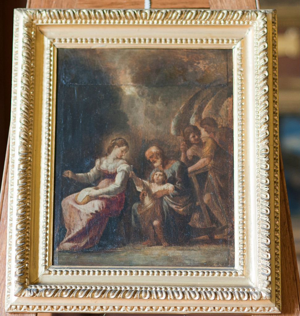 Follower of Lodovico Carracci, </br> The Holy Family.